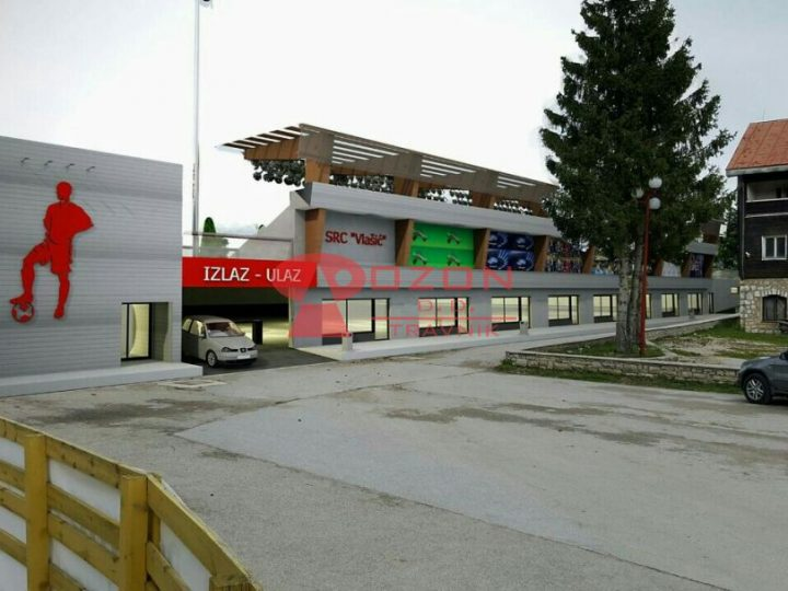 Izgradnja fudbalskog stadiona na Vlašiću